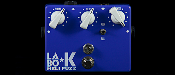 Heli Fuzz pedal by Labo K Effects