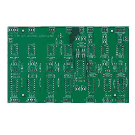 CUSTOM SILENT TRUE BY-PASS PCB
